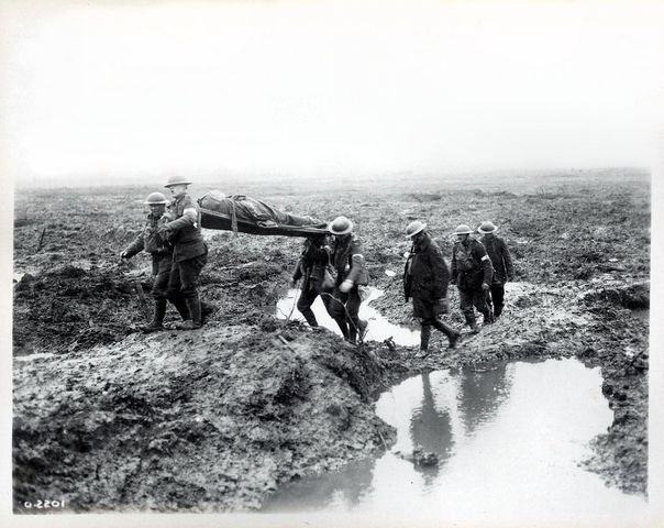 Fighting still going on the Western Front