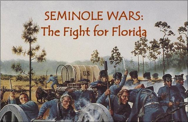 (1818) the first Seminole war ended.