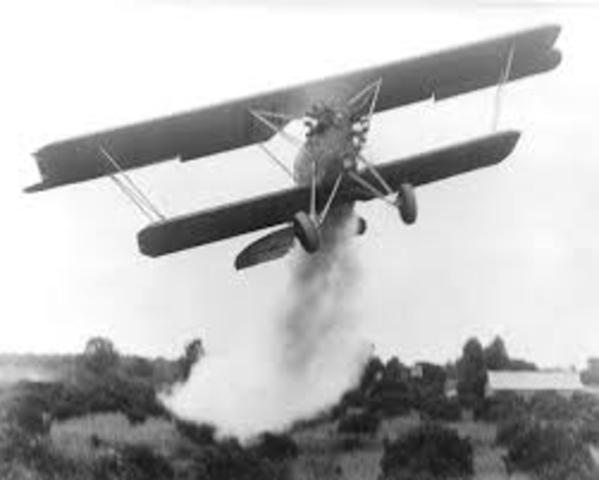 (1924) Delta Airlines starts as Crop Dusting Company