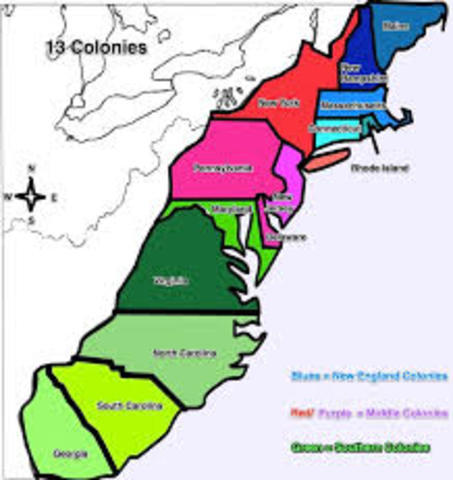 development virginia and massachusetts colonies American colonial society in the eighteenth century largest colonies were virginia, massachusetts, pennsylvania, north carolina and maryland 3.