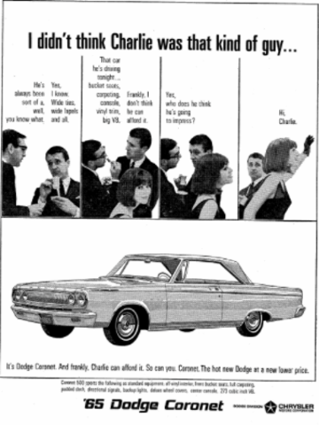 Dodge Chrysler Ad