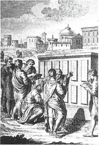 10.2: Rome: The 12 Tables were written
