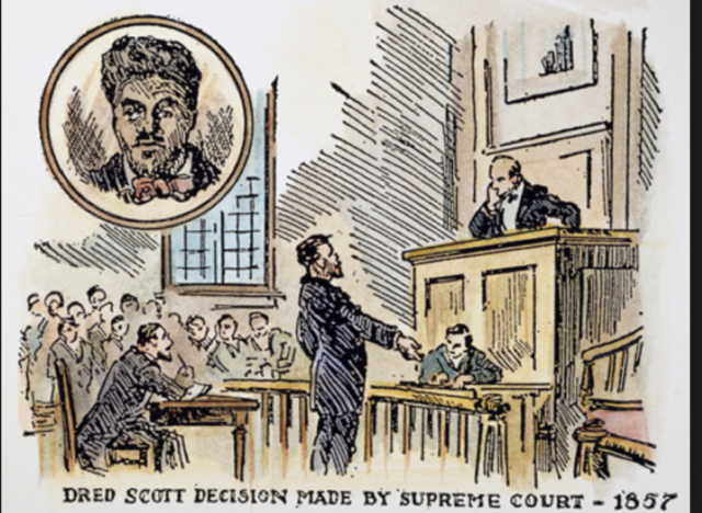 a review of the infamous court case dred scott vs sanford Commentary dred scott essay example this court case of scott vs sanford was a catalyst to sanford this case has become infamous not only because the.