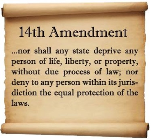 14th Amendment's Ratification Furthers The 1st Amendment