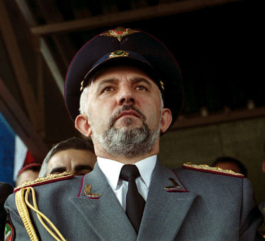 President of Chechnya (Aslan Maskhadov) assassinated