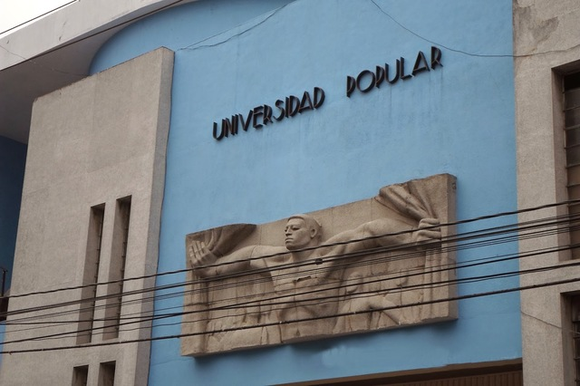 Fundó la Universidad Popular de Guatemala