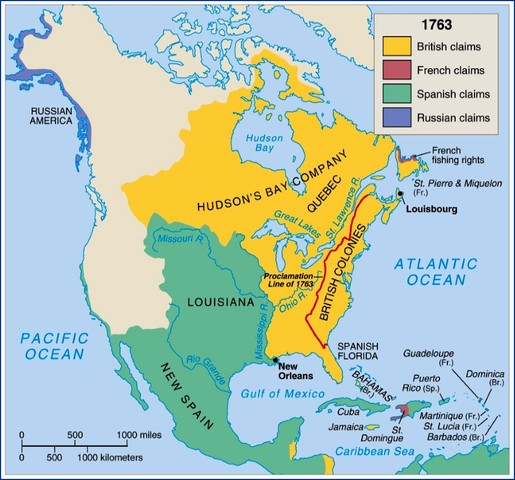 Treaty of Paris 1763(CA)