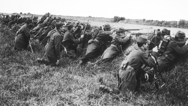Germans stopped at first battle of Marne