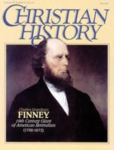 Charles B. Finney Lead Religious Revivals In Western New York