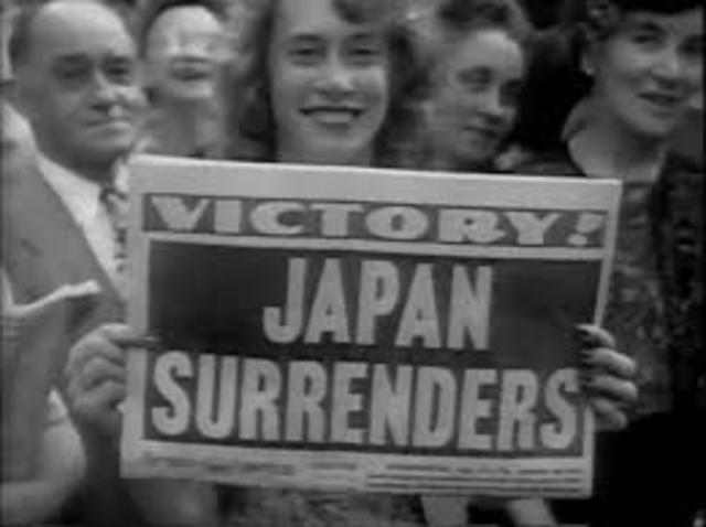 Victory over Japan/ Pacific