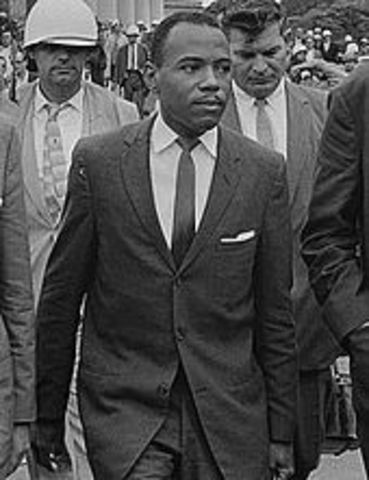 James Meredith enrolls at Ole Miss and a riot breaks out