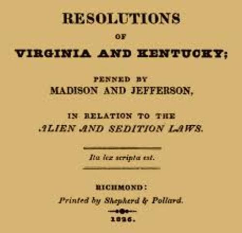 Kentucky Resolutions(NR)