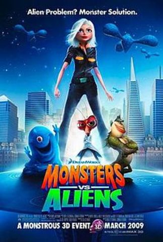 Monstruos VS Aliens