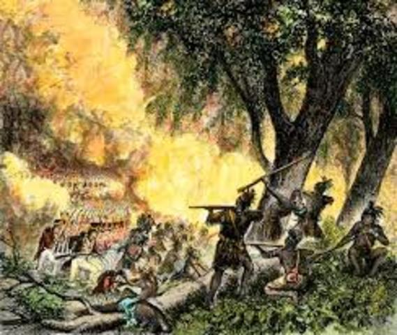 Interactions with Native Americans: Little Turtle and Northwest territory battles; Battle of Fallen Timbers