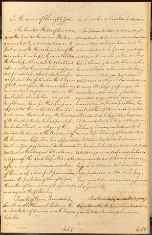 Treaty of Guadalupe-Hidaglo