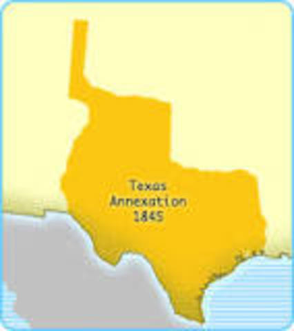 US Annexation  of Texas
