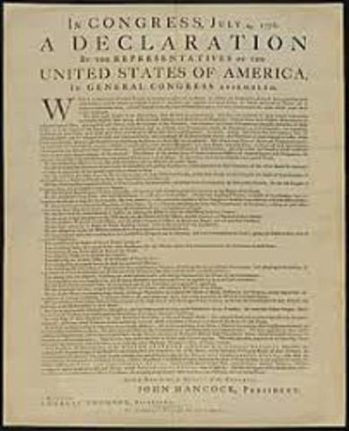 The Declaration Independence
