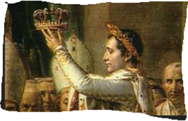 Crowned King of Italy