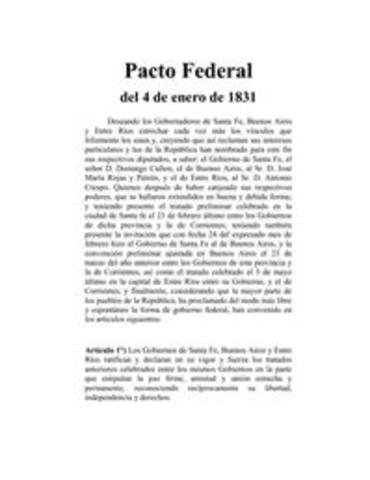 Pacto Federal