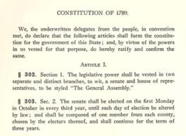 Georgia Revised its State Constitution