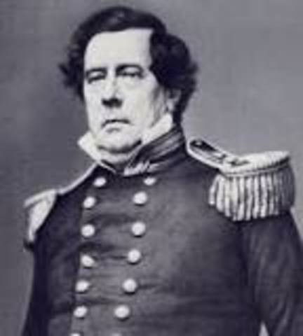 Commodore Matthew Perry Entered Tokyo Harbor Opening Japan to the U.S