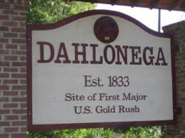 Dahlonega, Georgia Gold First Discovered