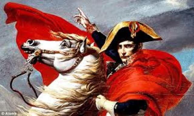 Napoleon takes power
