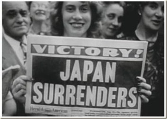 •	Victory over Japan/Pacific (VJ/VP) Day
