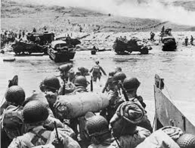 •	Invasion of Normandy (D-Day