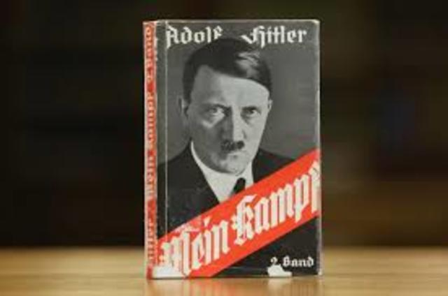 •	Mein Kampf published