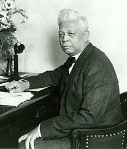 The First African American to Represent an Urban District as Congressman