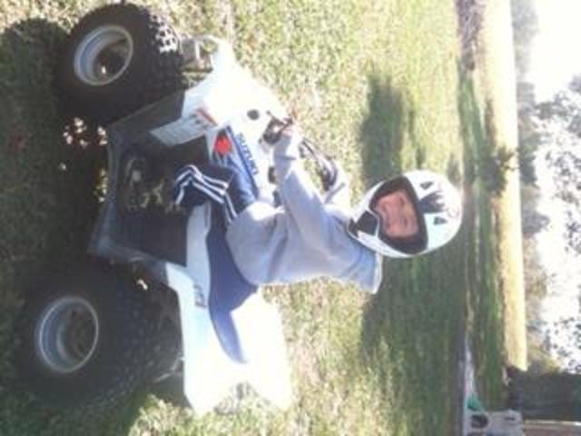 My first four wheeler