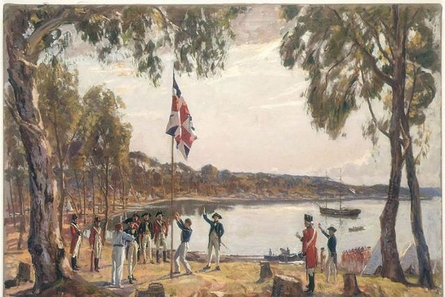 The settlement of aboriginal people in Australia