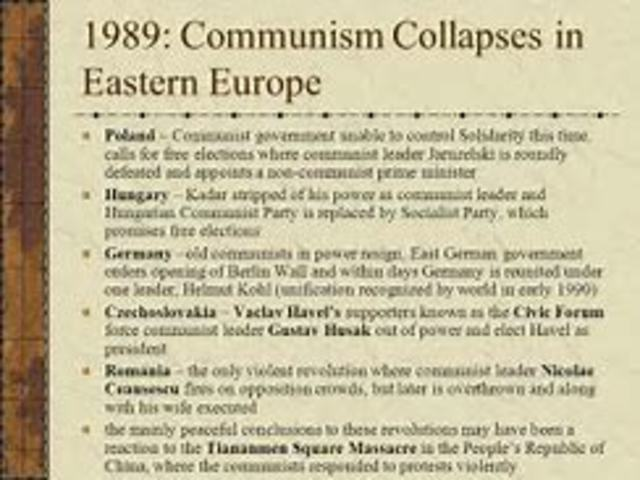 an analysis of the collapse of communism in eastern europe