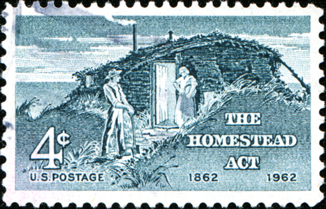 Homestead Act(Western Settlement)