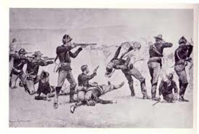 Battle of Wounded Knee(Conflict)