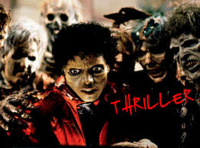 Thriller is released.