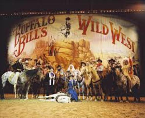 Buffalo Bill's Wild West Show(Western Romanticism)