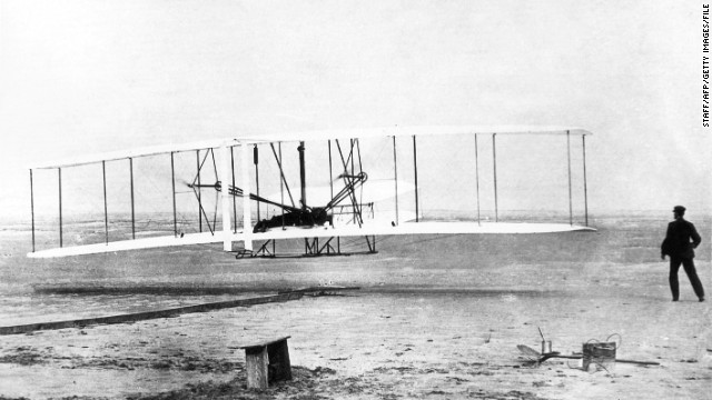 Wright Bros First Powered Flight