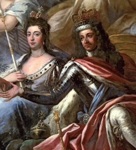 William III and Mary II become Joint-Sovereigns
