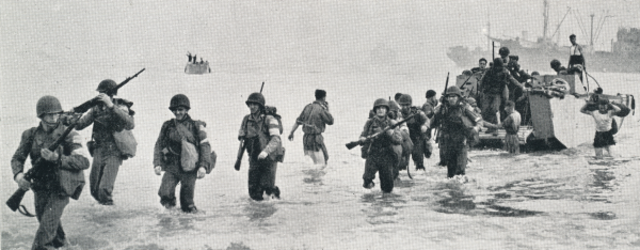 Operation Torch, the Allied invasion of North Africa begins