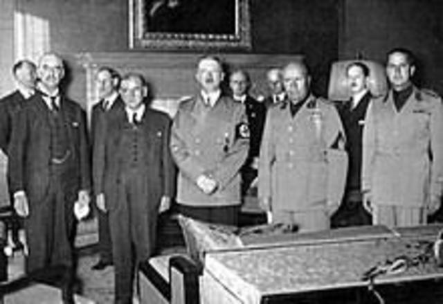 The Munich Pact Signed