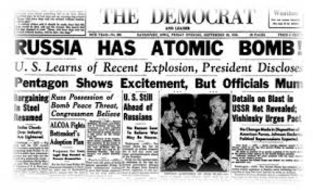 The Russians Acquire the Atomic Bomb
