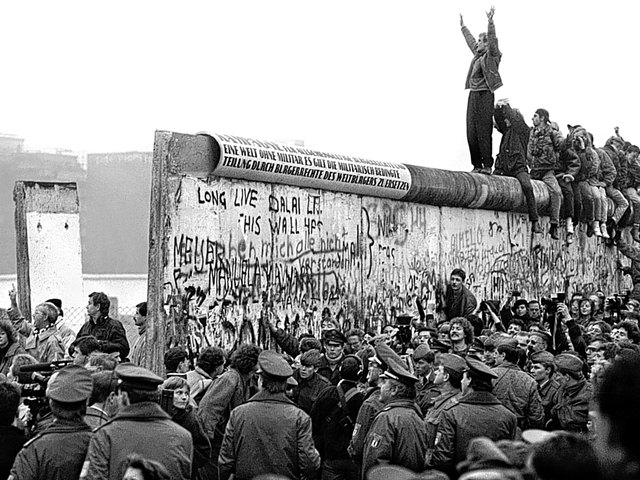 The Fall of the Berlin Wall