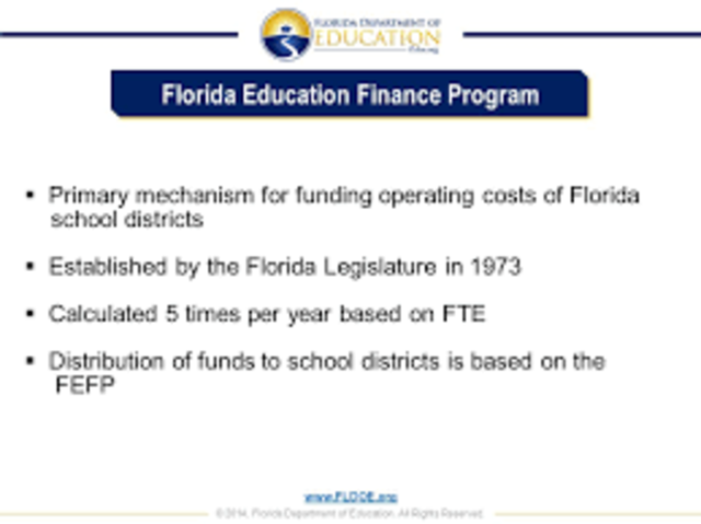 Florida Education Finance Program