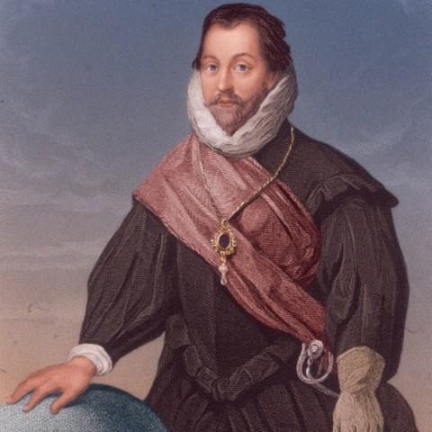 Sir Francis Drake Sails Around the World