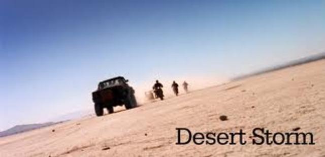 Desert storm dates