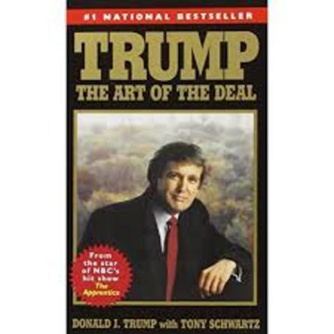 Donald's first published book Trump: The Art of the Deal