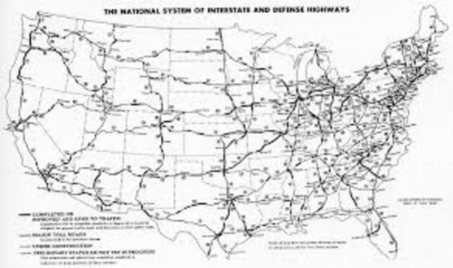 •	Interstate Highway Act