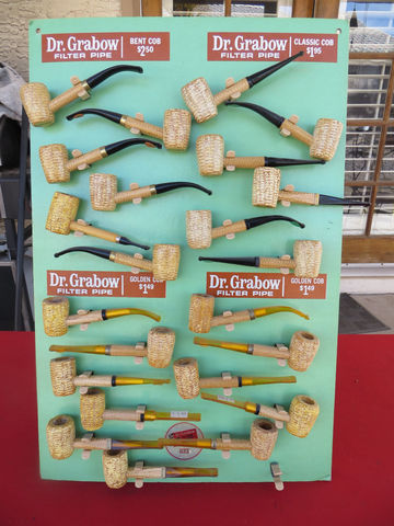 Dr. Grabow Corn Cob pipes are available